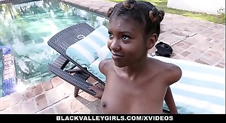 BlackValleyGirls - Hot Dark-hued Teen Fucks Swim Coach