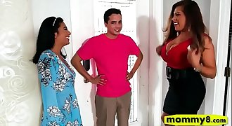 Monica Asis and Alessandra Miller orgy
